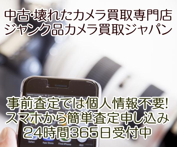 ジャンク品カメラジャパン