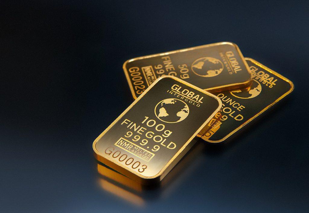インゴットなどの純金