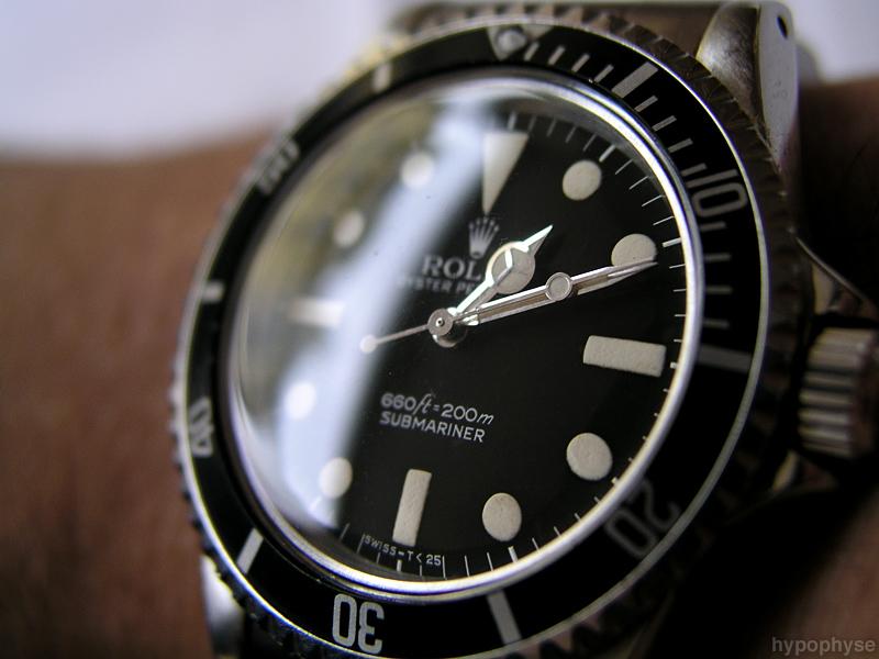 機械式時計のロレックス