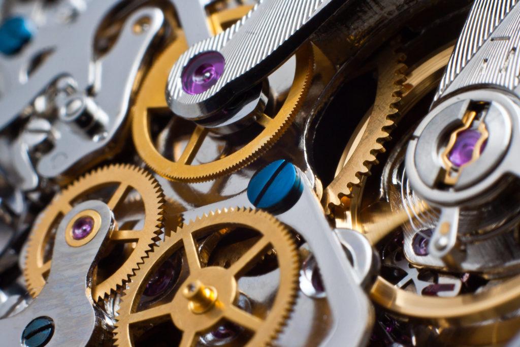 腕時計のムーブメント