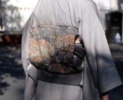 大島紬のような着物