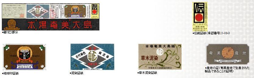 大島紬証書