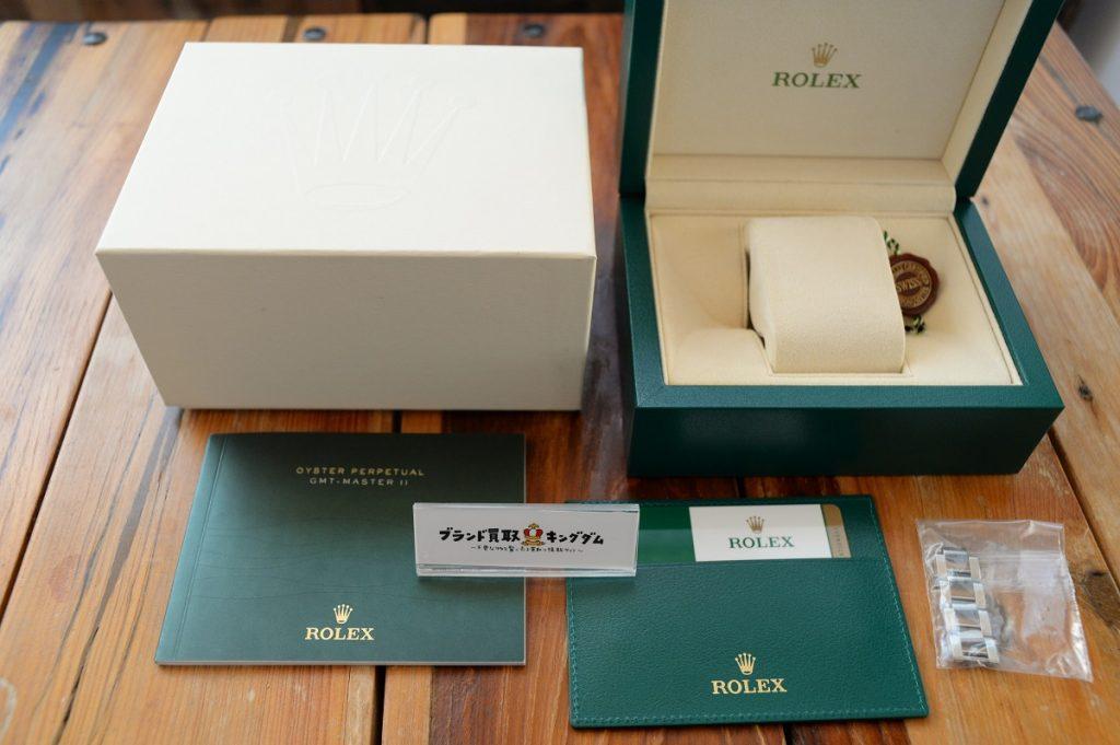 ロレックスの腕時計付属品