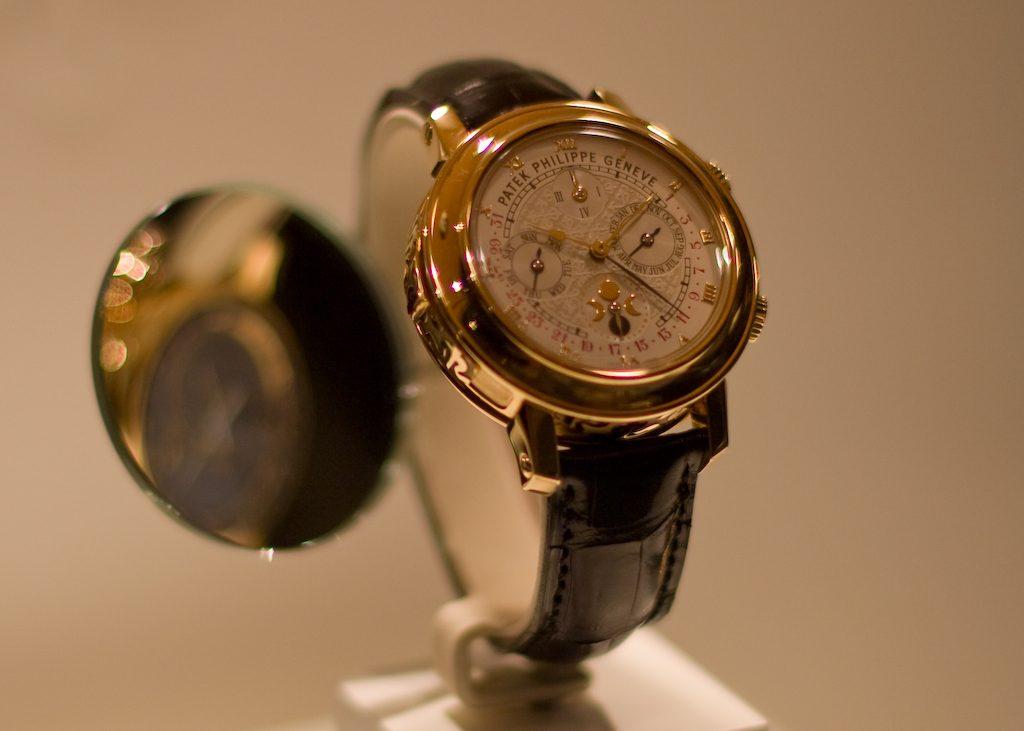 パテックフィリップの高級時計