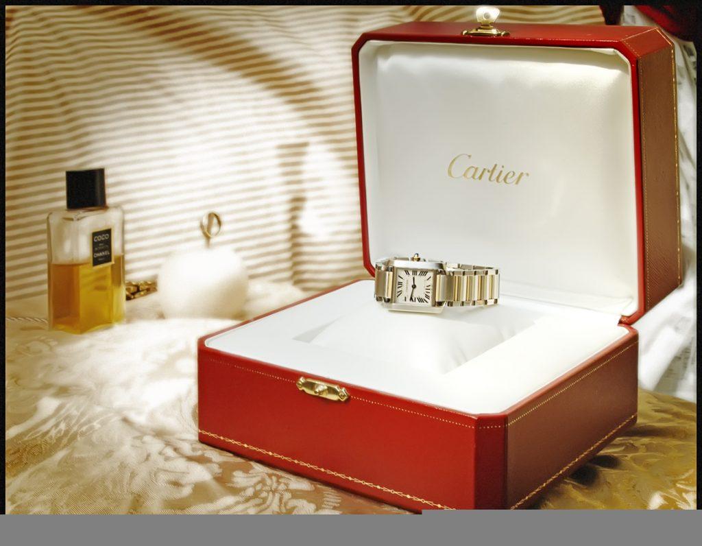 Cartierのリング