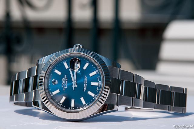 長く使えるロレックスの腕時計