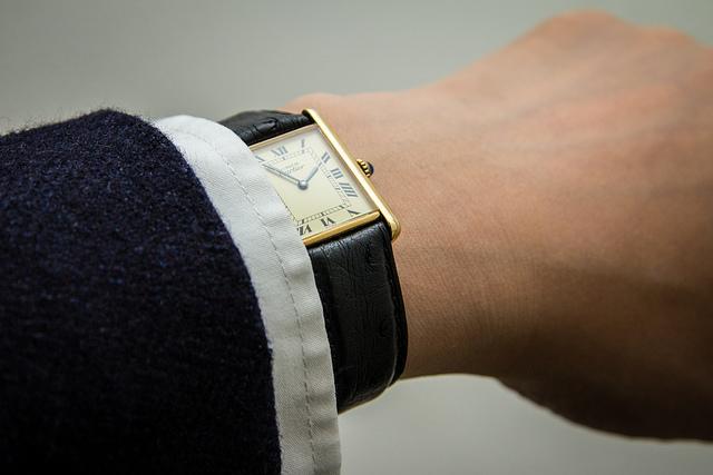 カルティエのメンズ腕時計
