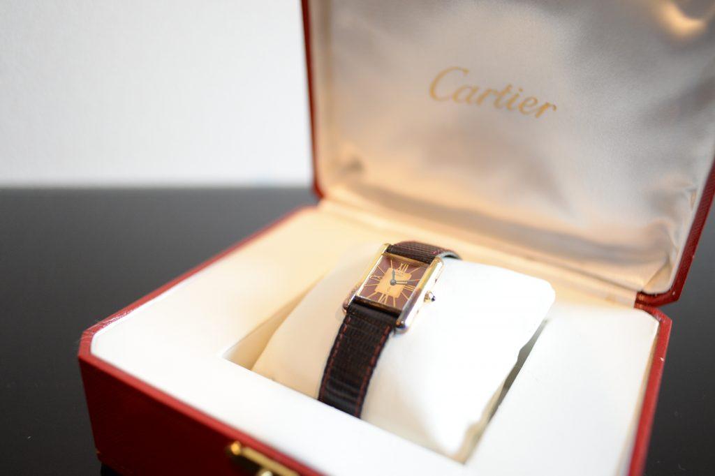 カルティエのヴィンテージ時計