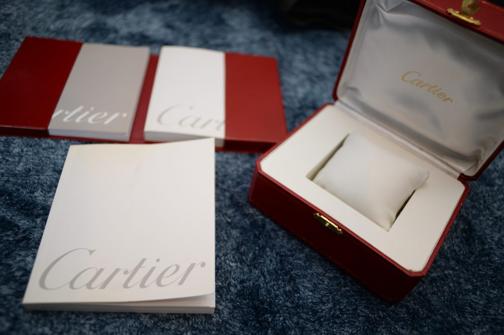カルティエの時計の付属品