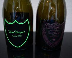 ドンペリニヨンの空き瓶