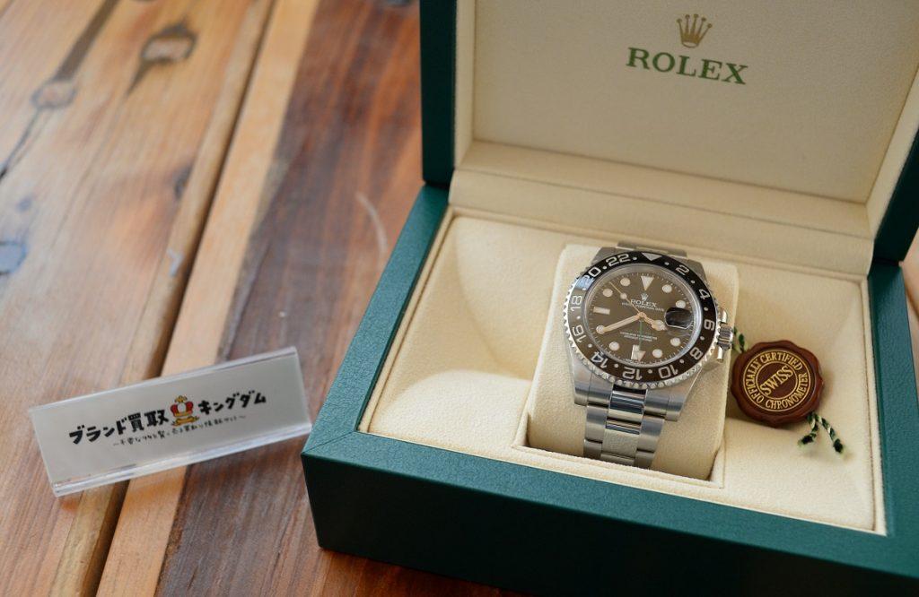 コメ兵の宅配買取に出したロレックスの腕時計