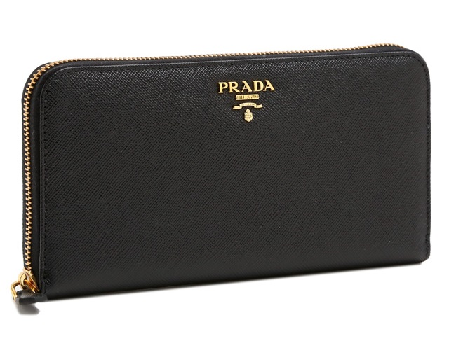 プラダジッピー長財布