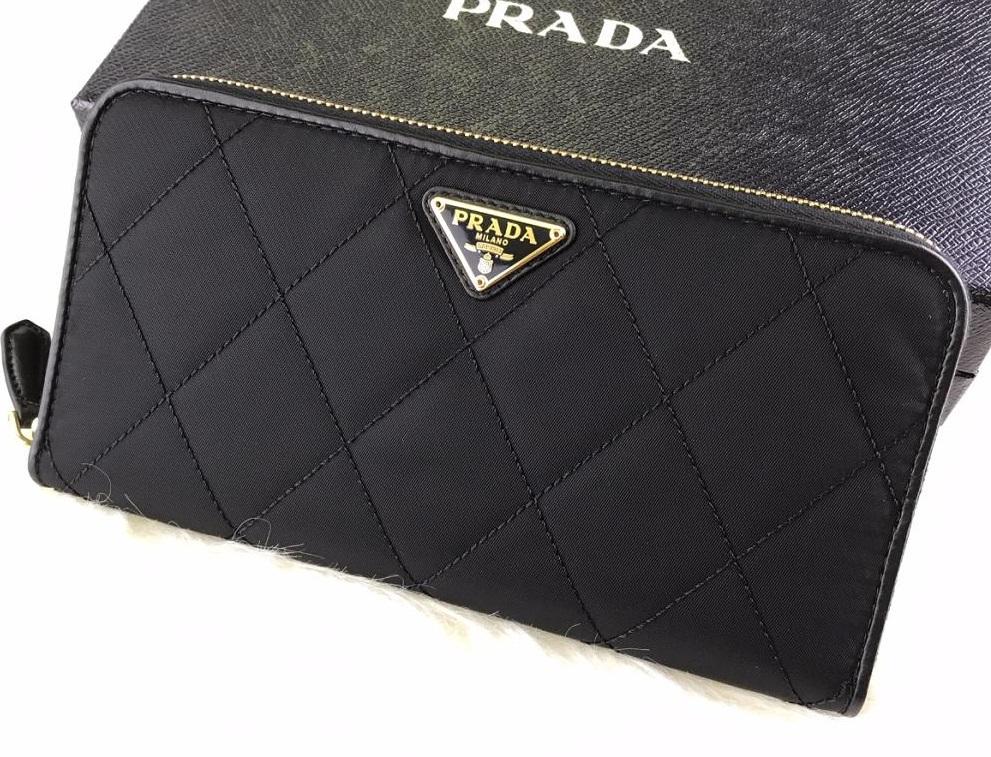 プラダナイロン長財布