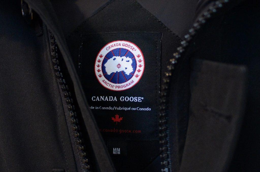 カナダグースのロゴ