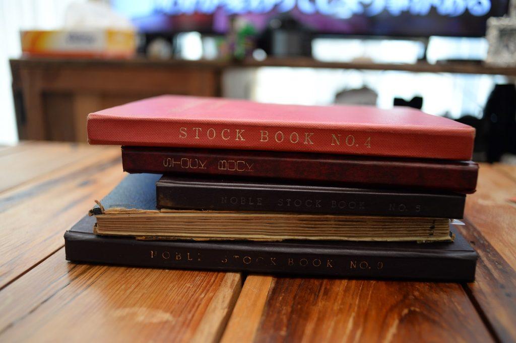 バラ切手のファイル5冊