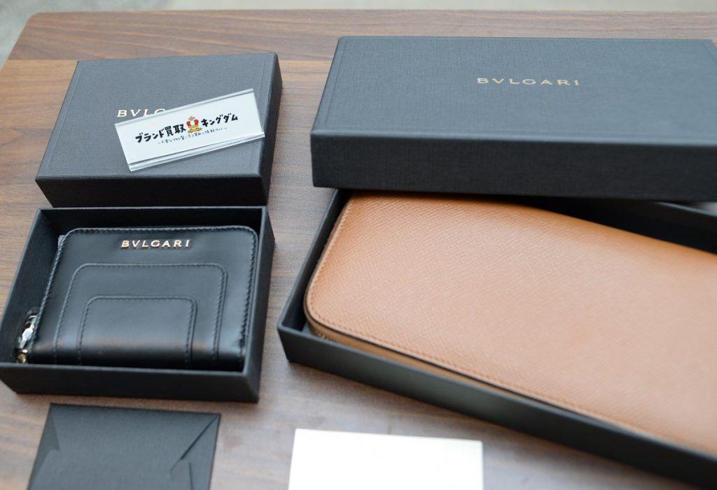 ブルガリの財布の買取査定を比較