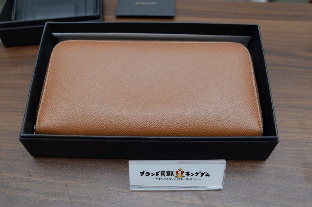 ブルガリのラウンドファスナー長財布
