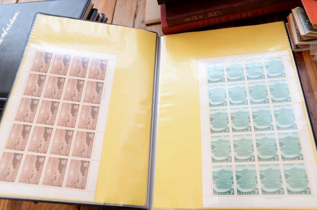 切手シートファイル
