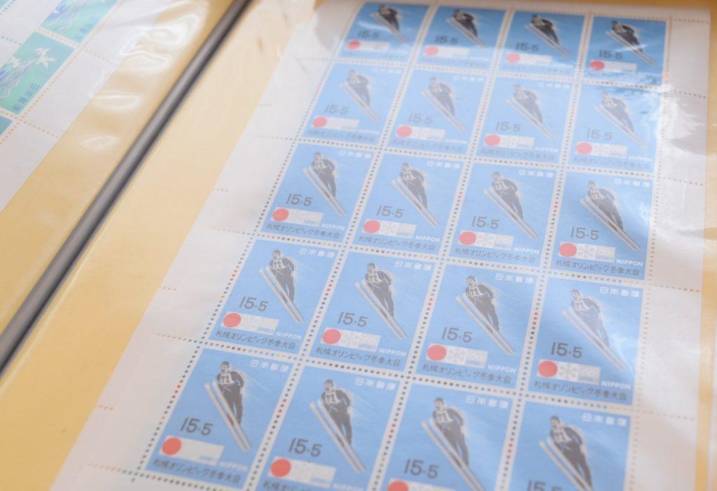 日本の切手シート