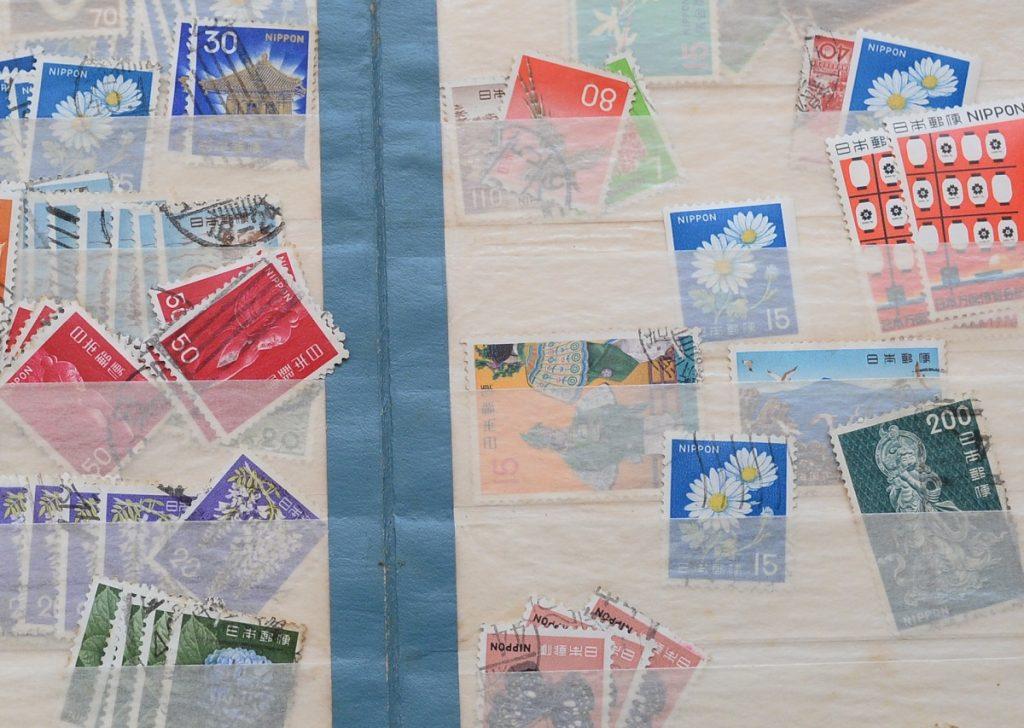 日本切手バラ