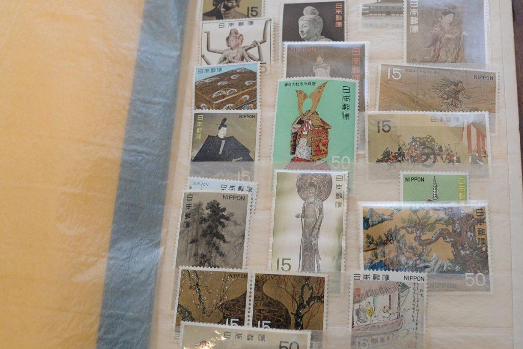 日本の古い切手バラ2