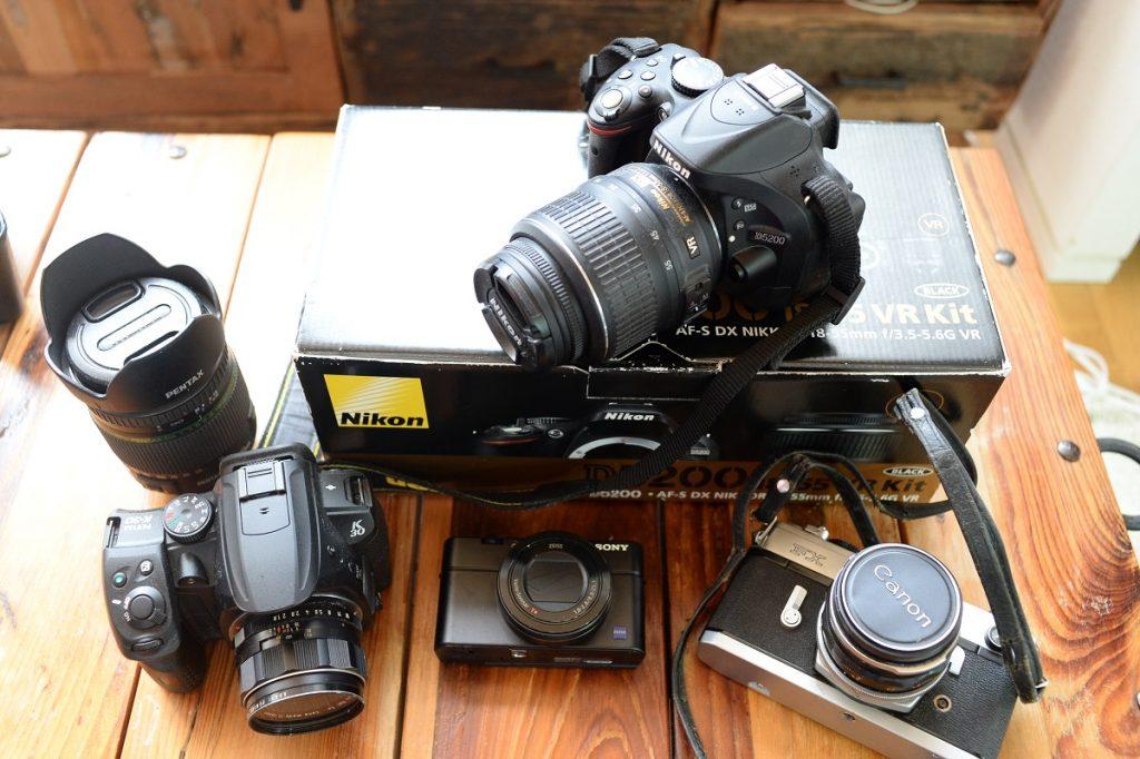 カメラのリサマイに査定に出したカメラ一覧