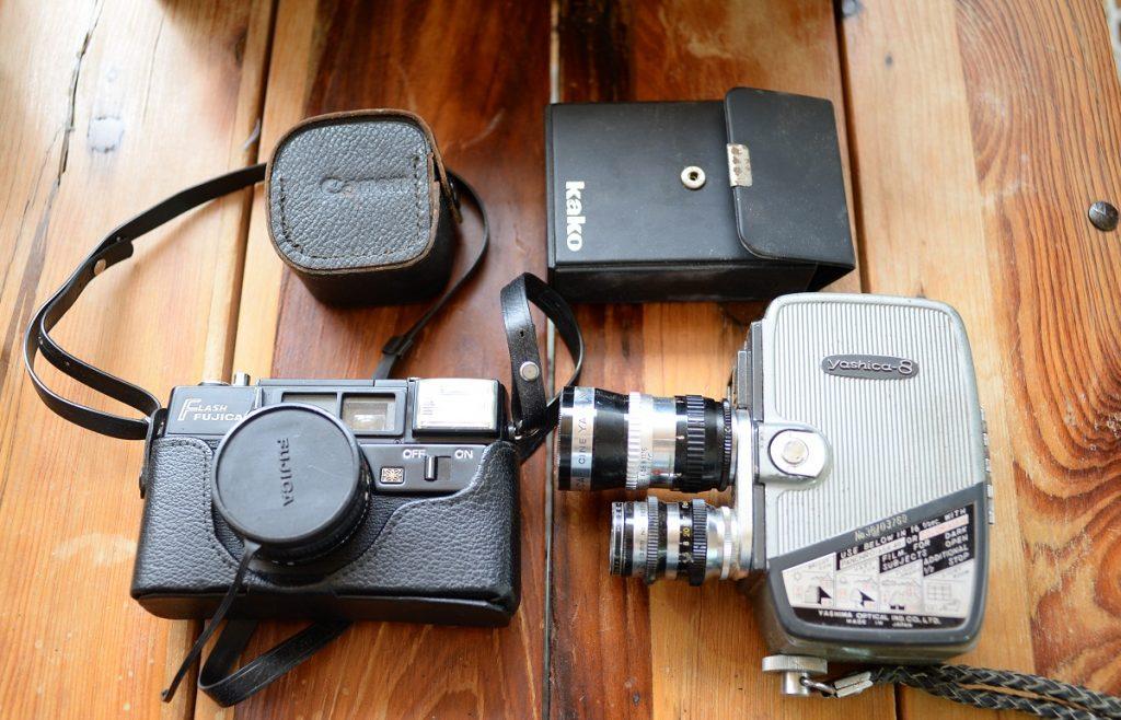 念のため査定に出した古いフィルムカメラ