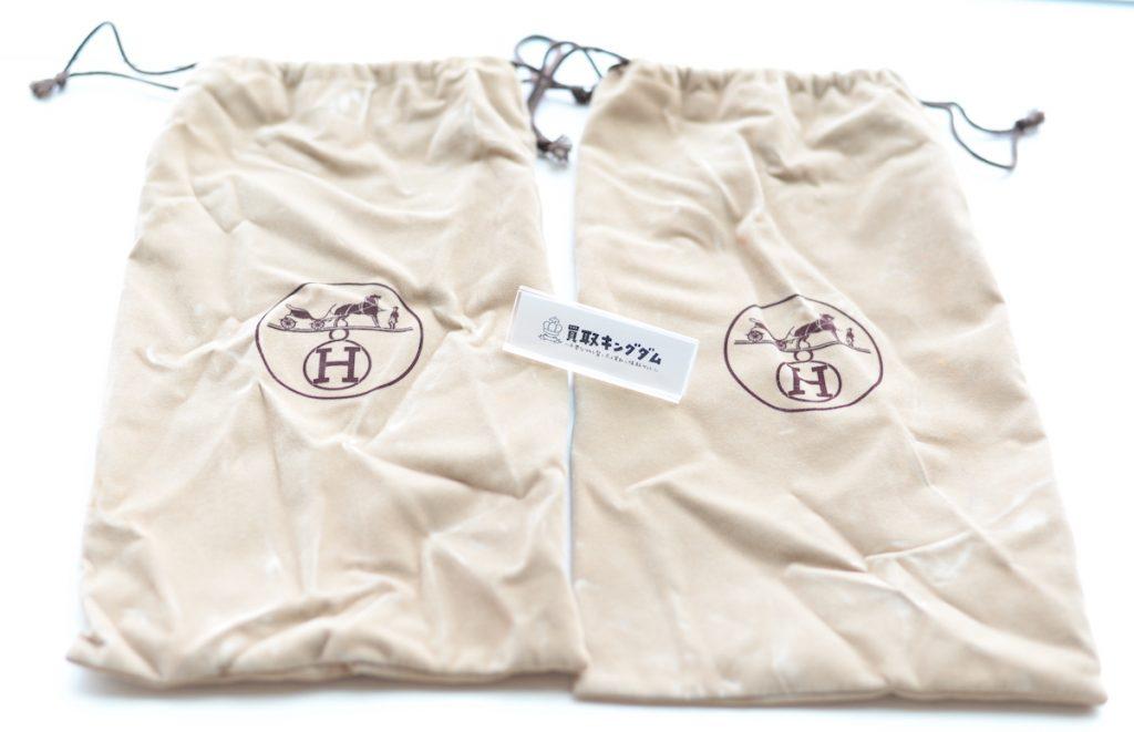 エルメスのシューズの保存袋