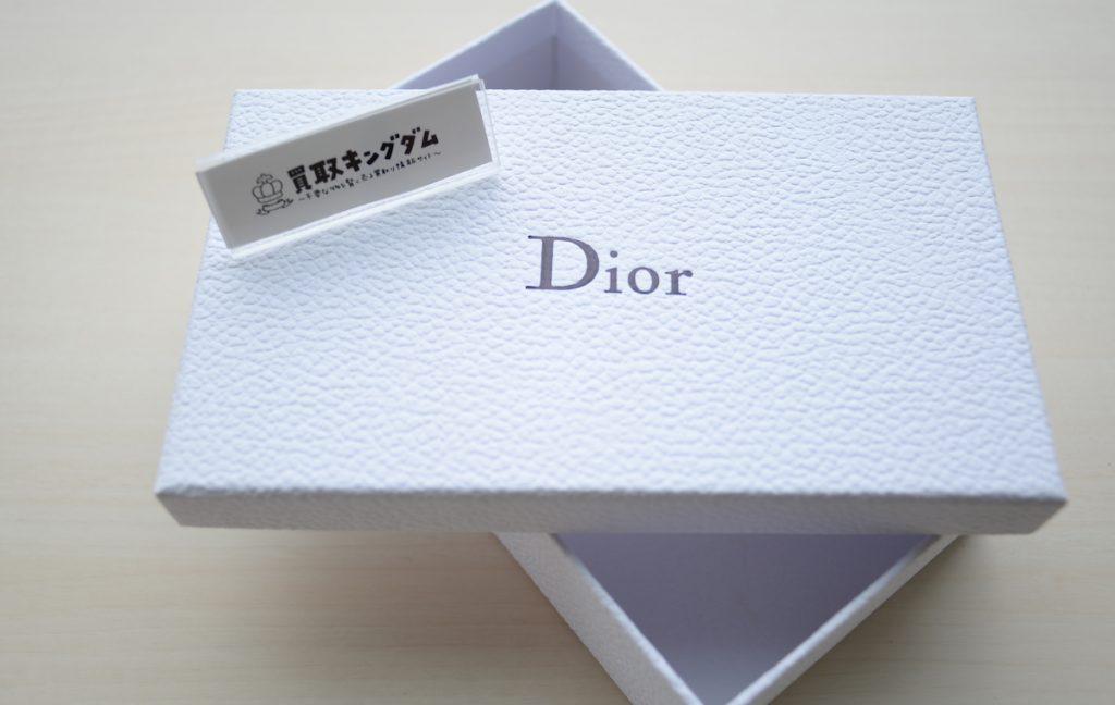 ディオールの付属品箱